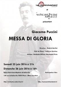 2016 affiche concert juin