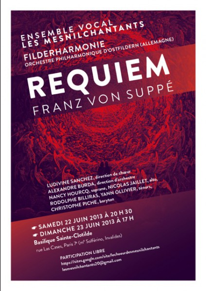 Requiem de Franz von Suppe